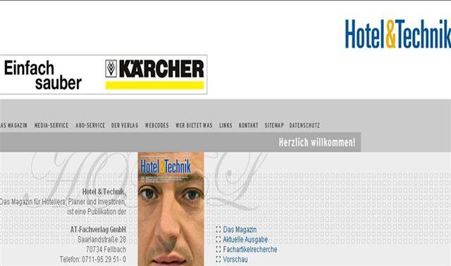 Die webseite f r auszubildende und for Hotelplaner architekten
